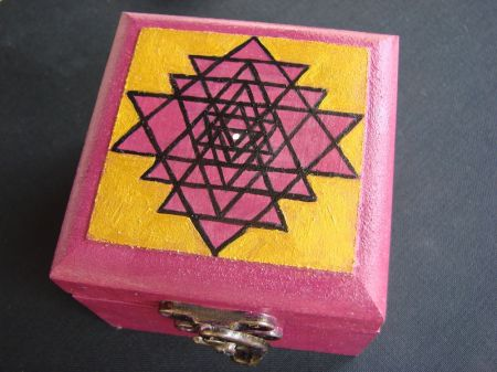 Kutija za nakit Šri jantra