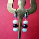 Amazonite Colorful, Earrings