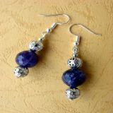 Amethyst, Earrings