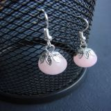 Rose Quartz, Earrings