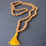 Rudraksha Necklace 4 mm - Tradicional Style