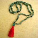 Green Jade, Necklace - Tradicional Style