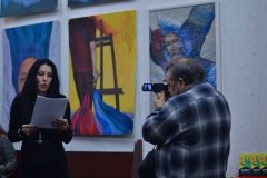Otvaranje izložbe slika Jasne Đukić