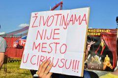 Protest protiv cirkusa sa životinjama