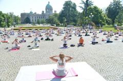 Celebrated Sixth International Day of Yoga
