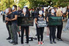 Unity Cube of Truth in Novi Sad